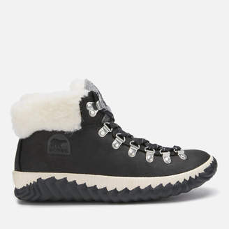 Sorel Women's Out 'N About Plus Conquest Waterproof Suede Boots