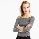 J.Crew Scoopback ballet T-shirt in stripe