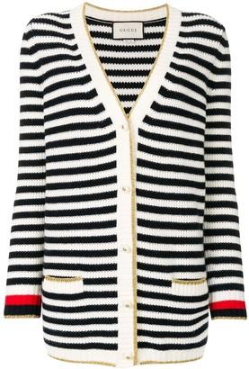 Gucci Striped Cardigan