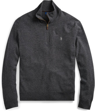 Ralph Lauren Merino Quarter-Zip Jumper