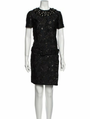 Prada 2018 Mini Dress w/ Tags Black