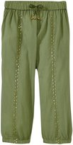 Pink Chicken Harper Pants (Toddler/Kid) - Oil Green - 3 Years