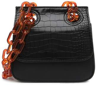 Urban Expressions Chainlink Croc Embossed Hobo Bag