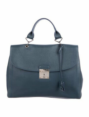 Marc Jacobs Leather The 1984 Bag Blue