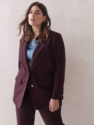Long Double-Breasted Blazer - Addition Elle
