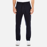 MSGM Men's Casual Fit Trousers Navy