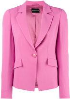 Emporio Armani classic blazer - women - Polyester/Viscose - 46