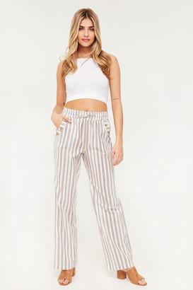 Ardene Striped Woven Pants