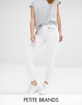 Vero Moda Petite Zip Detail Skinny Jeans