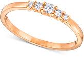 Swarovski Five Crystal Statement Ring