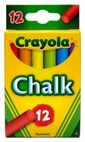 Crayola Multicolored Chalk, 12ct