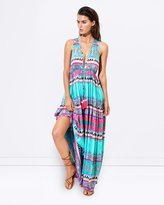 Seafolly Embellished Print Maxi