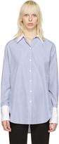 Rag & Bone Blue Striped Essex Shirt