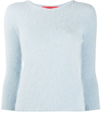 Roberto Collina 3/4 Sleeve Textured Sweater