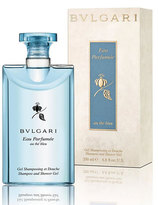 Bvlgari Eau Parfumé;e Au Thé Bleu Shampoo and Shower Gel, 6.8 oz.