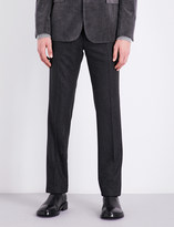 Ralph Lauren Purple Label Slim-fit tapered wool trousers