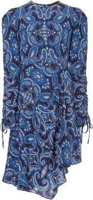 Etro Paisley Silk Mini Dress