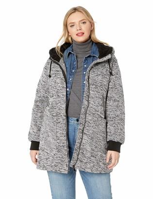 Madden-Girl Women's Sweater Fleece Jacket