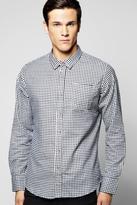 Boohoo Long Sleeve Check Shirt