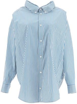 Balenciaga maxi swing shirt with logo