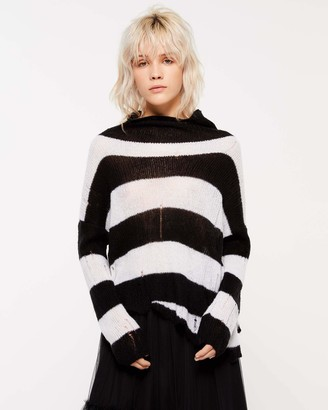 Sisley Women's Turtle Neck Sweater L/S Jumper