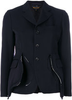 Comme des Garcons asymmetric layered jacket