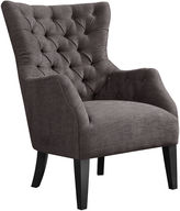 Asstd National Brand Izzy Button-Tufted Wingback Chair
