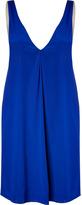 3.1 Phillip Lim Ultramarine V-neck slip dress