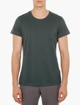 Acne Studios Green Cotton Winter T-Shirt