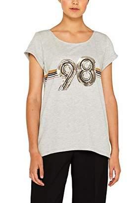 Esprit edc by Women's 089cc1k068 T-Shirt,Medium