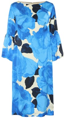 Dries Van Noten Floral satin dress