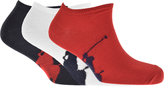 Ralph Lauren 3 Pack Socks Red