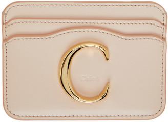 Chloé Pink C Card Holder