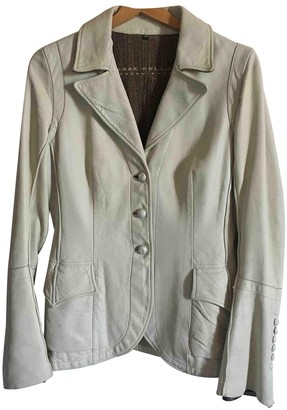 Isaac Sellam White Leather Jacket for Women