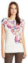 Ted Baker Women's Yoji Tapestry Floral Tee