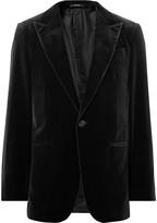 Ermenegildo Zegna - Black Cotton-velvet Blazer