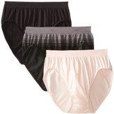 Bali Women's Comfort Revolution High-Cut Panties, Pack of Three