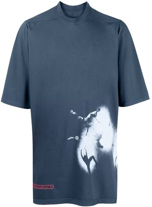 Rick Owens Graphic-Print Oversized T-Shirt