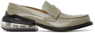 Maison Margiela Grey Airbag Loafers