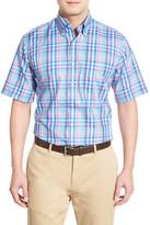 Peter Millar Vineyard Plaid Regular Fit Sport Shirt