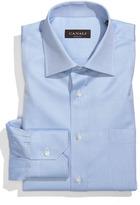 Canali Men's Solid Cotton Regular Fit Dress Shirt