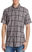 Obey Plaid Regular Fit Button-Down Shirt