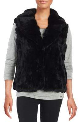 Surell Rex Rabbit Fur Vest