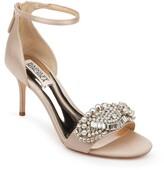 Badgley Mischka Collection Odalis Embellished Ankle Strap Sandal