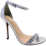 Wild Diva Silver Glitter Adele Sandal