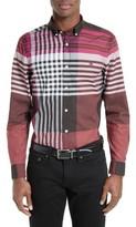 Burberry Men's Brookhouse Trim Fit Sport Shirt