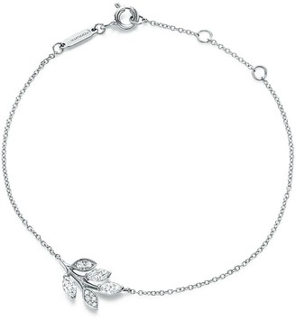Tiffany & Co. Victoria diamond vine bracelet in platinum