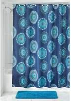 InterDesign 63621 Padma Medallion Fabric Shower Curtain -, Multi Color