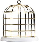 Seletti Twitable Gold Metal Birdcage