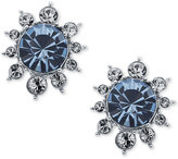 Givenchy Crystal Cluster Stud Earrings